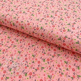 Cotton fabric Beautiful Flowers rose
