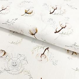 Cotton fabric Cotton wool digital print