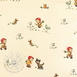 Cotton fabric Fairy tale Red ridding hood