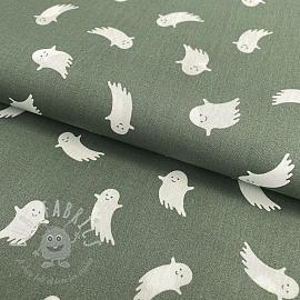 Cotton fabric Ghost sage