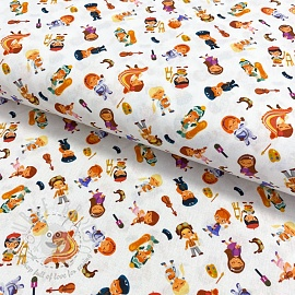 Cotton fabric Jobs digital print