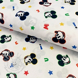 Cotton fabric Mickey mouse original digital print
