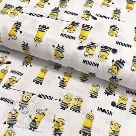 Cotton fabric MINIONS Prisoner digital print