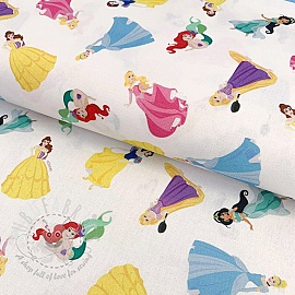 Cotton fabric My lovely princess digital print