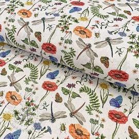 Cotton fabric Naturaleza digital print