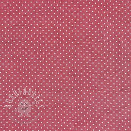 Cotton fabric Petit dots blush