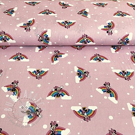 Cotton fabric Rainbow Minnie rainbow 2nd class