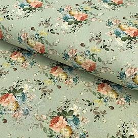 Cotton fabric Rosai pradera digital print