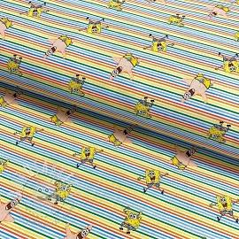 Cotton fabric SPONGEBOB Patrick star digital print
