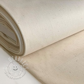 Cotton fabric unbleached ecru