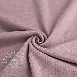 Cotton jersey INTERLOCK lilac