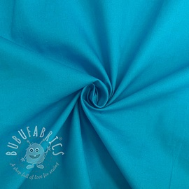 Cotton poplin aquamarine