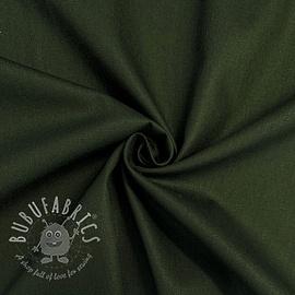 Cotton poplin army green