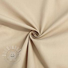 Cotton poplin beige