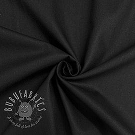 Cotton poplin black