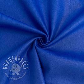 Cotton poplin cobalt