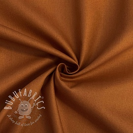 Cotton poplin cognac
