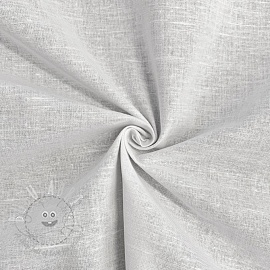 Cotton poplin COTTON WHITE