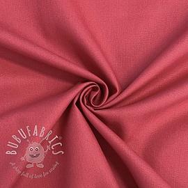 Cotton poplin dark blush