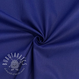 Cotton poplin dark cobalt