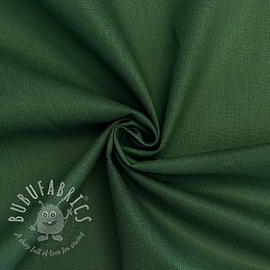 Cotton poplin dark green