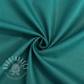 Cotton poplin dark petrol