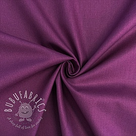 Cotton poplin dark purple