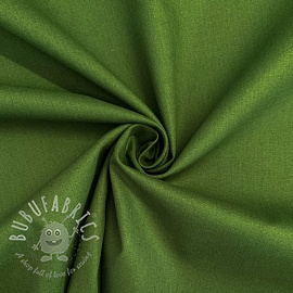 Cotton poplin forest green