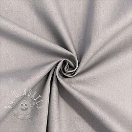 Cotton poplin GOTS Candy grey