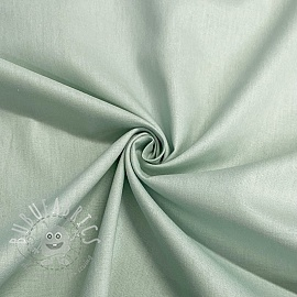 Cotton poplin GOTS light green