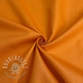 Cotton poplin GOTS orange