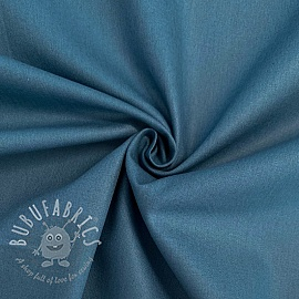 Cotton poplin indigo