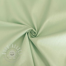 Cotton poplin light mint