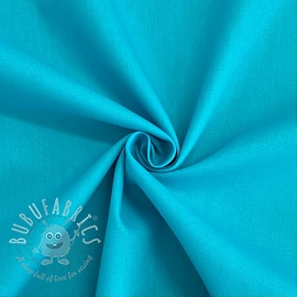 Cotton poplin light turquoise