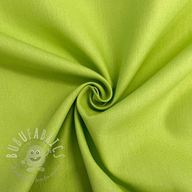 Cotton poplin lime