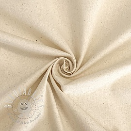 Cotton poplin natural