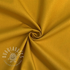 Cotton poplin ochre