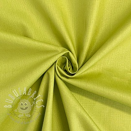 Cotton poplin old lime