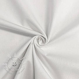 Cotton poplin optical white