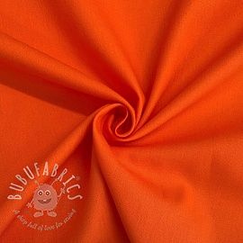 Cotton poplin orange