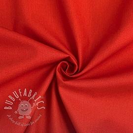 Cotton poplin red