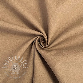 Cotton poplin taupe