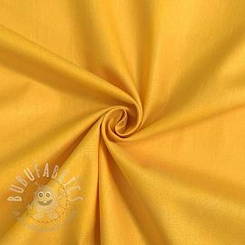 Cotton poplin yellow