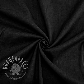 Cotton voile black