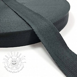 Cotton webbing 4 cm anthracite