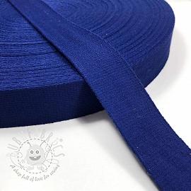 Cotton webbing 4 cm cobalt
