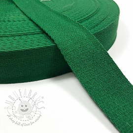 Cotton webbing 4 cm grass green