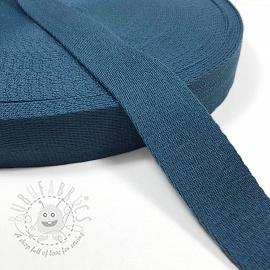 Cotton webbing 4 cm jeans