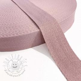 Cotton webbing 4 cm old pink