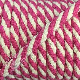 Cotton cord 5 mm fuchsia